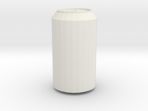 Soda Can Original in White Natural Versatile Plastic