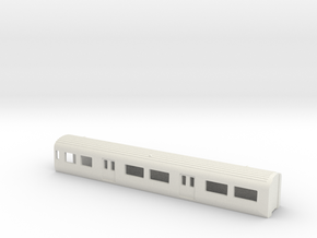 N Gauge Mk3 EMU DMS 1:148 in White Natural Versatile Plastic
