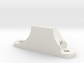 Latch Base in White Natural Versatile Plastic