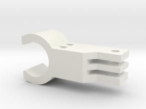 GoProUchwyt22mm in White Natural Versatile Plastic