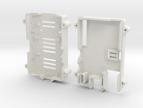 Blank Pi Case in White Natural Versatile Plastic