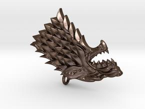 Game Of Thrones - Stark in Polished Bronze Steel