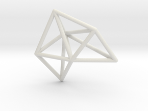 Amplituhedron in White Natural Versatile Plastic