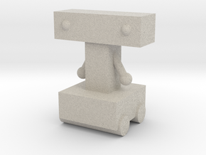 Tim's Robot in Sandstone