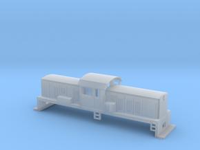 DSC Locomotive, New Zealand, (NZ120 / TT, 1:120) in Smooth Fine Detail Plastic