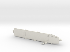 USS Sangamon 1/1800 in White Natural Versatile Plastic
