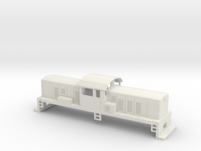 DSC Locomotive, New Zealand, (OO Scale, 1:76) in White Natural Versatile Plastic