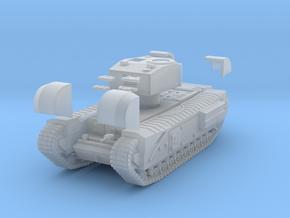 Tank- Churchill Mk III (1/87th) in Smooth Fine Detail Plastic