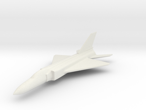 1/200 Scale Shenyang J-8  in White Natural Versatile Plastic