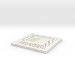 Alpha07p Q Model in White Natural Versatile Plastic