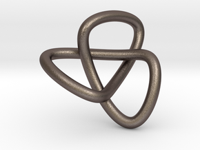 knot simplex in Polished Bronzed Silver Steel
