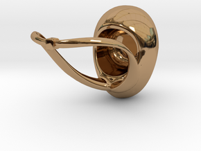 Little Darling Ring in Polished Brass