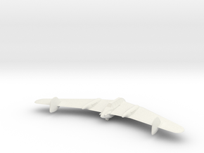 1/300 Lippish Li P04-108 in White Natural Versatile Plastic