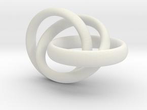 Rings in White Natural Versatile Plastic