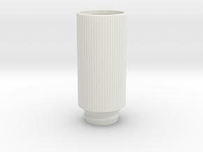Shotshotglass Shell in White Natural Versatile Plastic