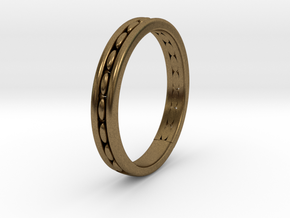 wedding ring design No.278 of 365 days in Natural Bronze