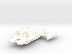 Jem'Hadar Long Dagger Heavy Carrier in White Strong & Flexible Polished