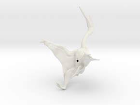 Quetzalcoatlus 1:40 scale model in White Natural Versatile Plastic
