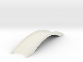 Bridge 1 in White Natural Versatile Plastic