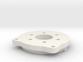 Brushless sensored adapter for screwdriver gearbox in White Natural Versatile Plastic
