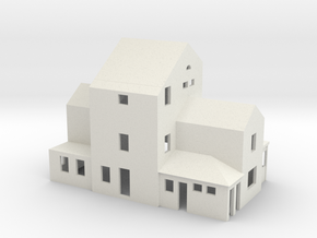 Bahnhof San Nazzaro in White Natural Versatile Plastic
