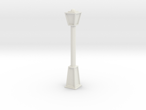 Lightpost 2 in White Natural Versatile Plastic