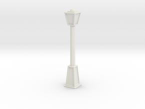 Lightpost 2 in White Natural Versatile Plastic