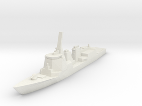 Atago 1:700 X1 in White Strong & Flexible