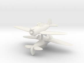 1/300 Seversky P35/J-9 (x2) in White Natural Versatile Plastic