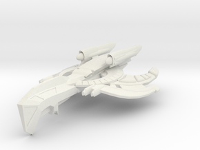 Wardog Class HvyCruiser in White Strong & Flexible