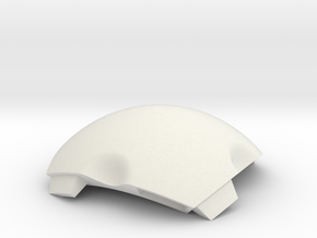 NSphere Thick (tile type:4) in White Natural Versatile Plastic