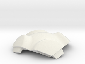 NSphere Thick (tile type:6) in White Natural Versatile Plastic
