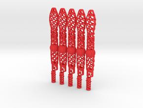 Idc Pen Type 01 5x in Red Processed Versatile Plastic