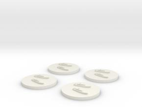 TM-51 MTB x4 1/2400 in White Natural Versatile Plastic