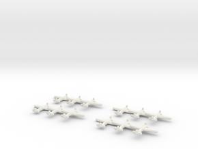 IAR.80/81C (Triplet) x4 1:900 in White Natural Versatile Plastic