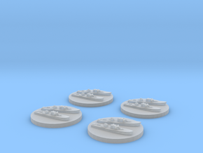 Fairmile D x4 1/2400 in Smooth Fine Detail Plastic