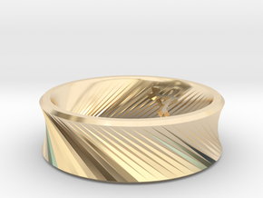 O - Ring - Size 5.5 in 14K Yellow Gold