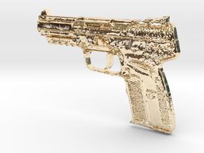 FN Five Seven 5,7mm x 28mm in 14K Gold