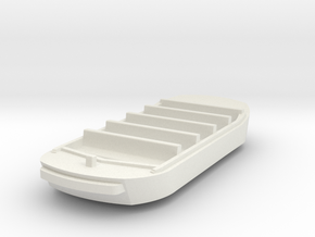 Pirates Boat_1 in White Natural Versatile Plastic