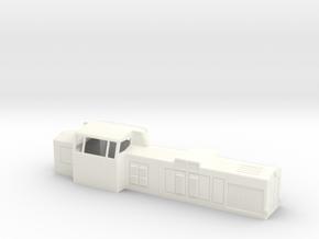 H0 Dv12 2600 vanha / old in White Processed Versatile Plastic