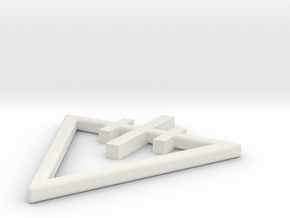 quillons pick in White Natural Versatile Plastic