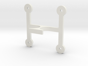 DSLR_Driverboard_holder in White Natural Versatile Plastic