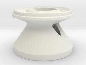 K45-0-50 in White Natural Versatile Plastic
