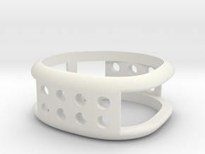 gideon's industrial ring in White Natural Versatile Plastic