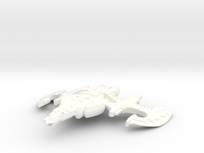 Sunfire Class Cruiser in White Processed Versatile Plastic