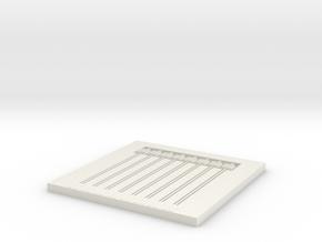 Alpha07p E Model in White Natural Versatile Plastic
