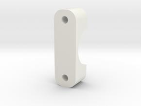 DSLR_16mm_thin_clamp in White Natural Versatile Plastic