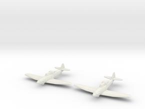 1/200 Boulton Paul Defiant (x2) in White Natural Versatile Plastic