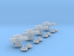 6mm AA Turret Set in Smooth Fine Detail Plastic