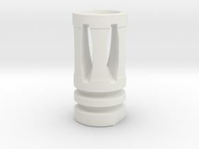 A-2 FH in White Natural Versatile Plastic